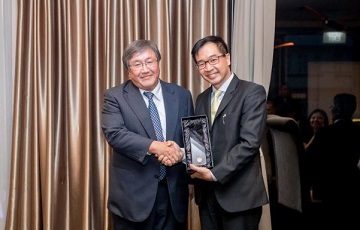 Shell Chemicals Carrier Recognition Award (Asia Pacific & Middle East)の受賞に関するお知らせ